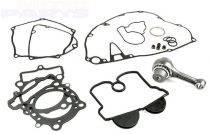 Connecting rod kit with complete gasket kit ATHENA, SX125 16-18, TC125  16-17