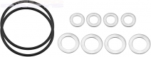 Oil change seals KXF250 04-